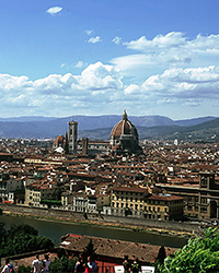 View of Florence and Arno
